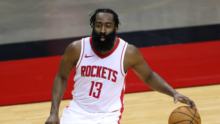James Harden #13 of the Houston Rockets (Photo by Carmen Mandato/Getty Images)