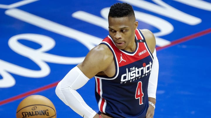 Russell Westbrook #4 of the Washington Wizards (Photo by Tim Nwachukwu/Getty Images)