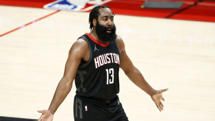 James Harden #13 of the Houston Rockets (Photo by Steph Chambers/Getty Images)