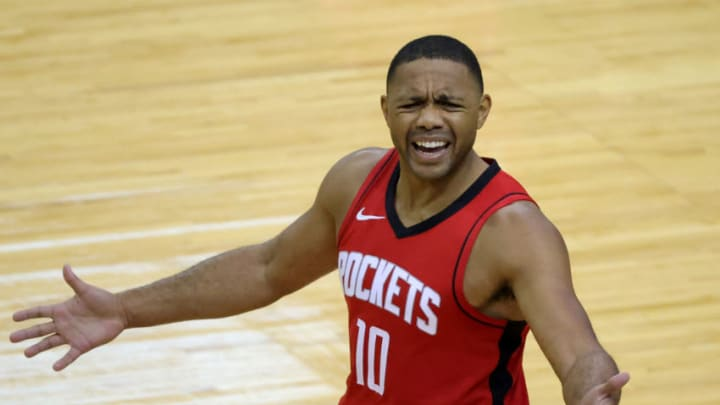Eric Gordon #10 of the Houston Rockets (Photo by Carmen Mandato/Getty Images)