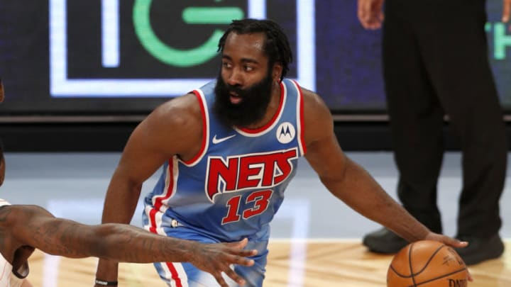James Harden #13 of the Brooklyn Nets (Photo by Jim McIsaac/Getty Images)