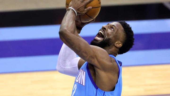 David Nwaba #2 of the Houston Rockets (Photo by Carmen Mandato/Getty Images)