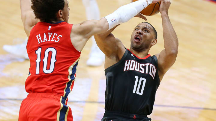 Eric Gordon #10 of the Houston Rockets (Photo by Jonathan Bachman/Getty Images)