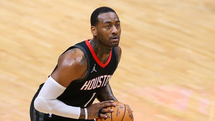 John Wall #1 of the Houston Rockets (Photo by Jonathan Bachman/Getty Images)