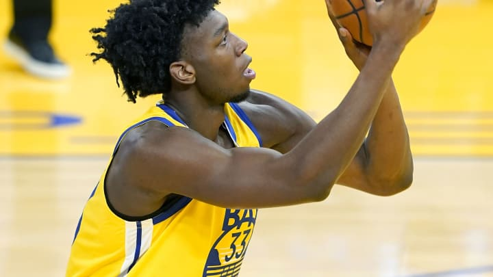 James Wiseman #33 of the Golden State Warriors (Photo by Thearon W. Henderson/Getty Images)
