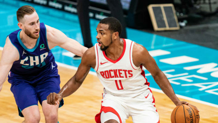 Sterling Brown #0 of the Houston Rockets (Photo by Jacob Kupferman/Getty Images)
