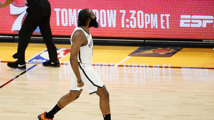 James Harden #13 of the Brooklyn Nets (Photo by Christian Petersen/Getty Images)