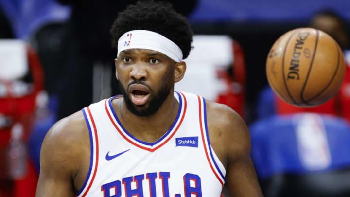 Joel Embiid #21 of the Philadelphia 76ers (Photo by Tim Nwachukwu/Getty Images)