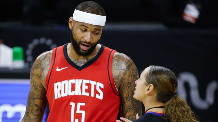 DeMarcus Cousins #15 of the Houston Rockets (Photo by Tim Nwachukwu/Getty Images)