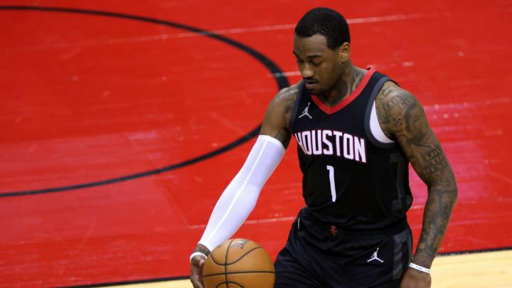 John Wall #1 of the Houston Rockets (Photo by Carmen Mandato/Getty Images)