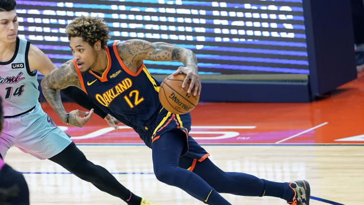 Kelly Oubre Jr. #12 of the Golden State Warriors (Photo by Thearon W. Henderson/Getty Images)