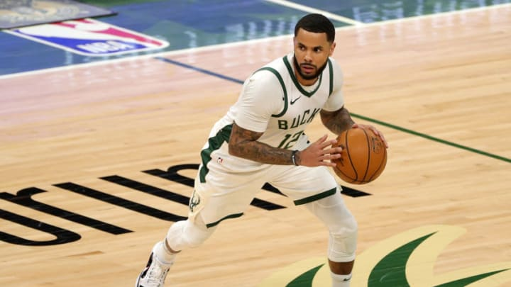 D.J. Augustin #12 of the Milwaukee Bucks (Photo by Stacy Revere/Getty Images)