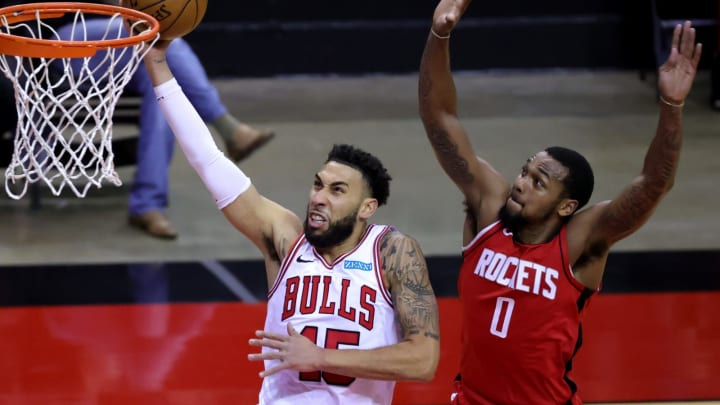 Sterling Brown #0 of the Houston Rockets (Photo by Carmen Mandato/Getty Images)