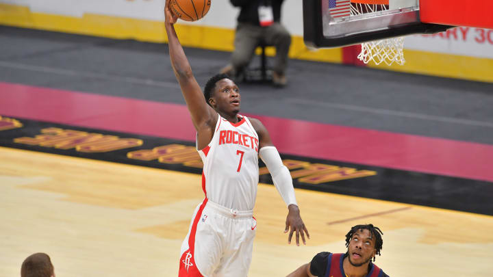 Victor Oladipo #7 of the Houston Rockets (Photo by Jason Miller/Getty Images)