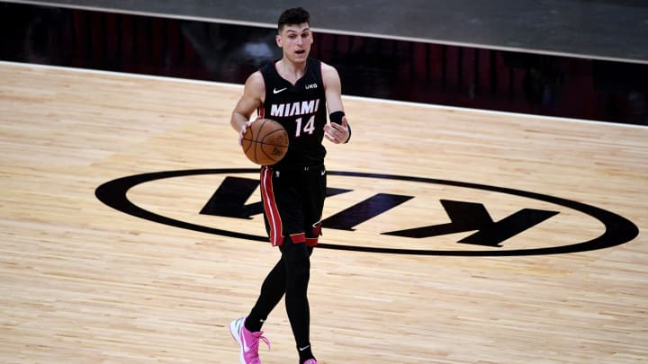Tyler Herro #14 of the Miami Heat (Photo by Mark Brown/Getty Images)