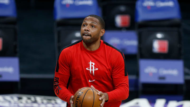 Eric Gordon #10 of the Houston Rockets (Photo by Lachlan Cunningham/Getty Images)