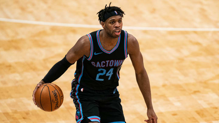 Buddy Hield #24 of the Sacramento Kings (Photo by Jacob Kupferman/Getty Images)