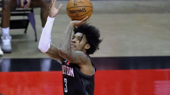 Kevin Porter Jr. #3 of the Houston Rockets (Photo by Carmen Mandato/Getty Images)