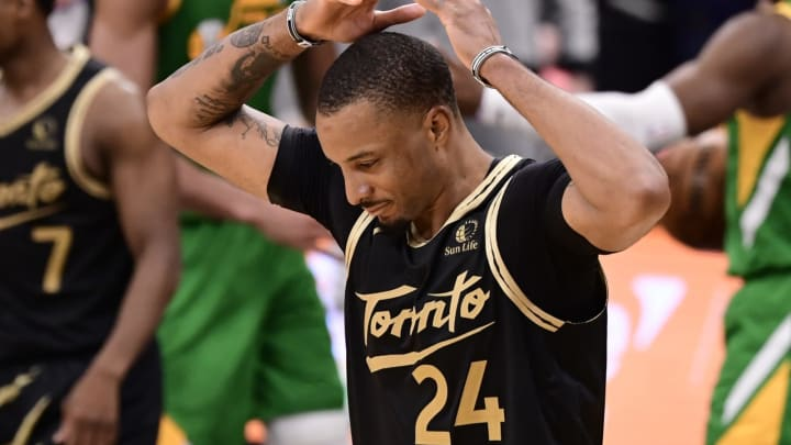 Norman Powell #24 of the Toronto Raptors (Photo by Douglas P. DeFelice/Getty Images)