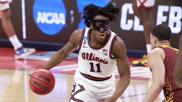 Ayo Dosunmu #11 of the Illinois Fighting Illini (Photo by Justin Casterline/Getty Images)