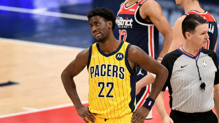 Caris LeVert #22 of the Indiana Pacers (Photo by Will Newton/Getty Images)
