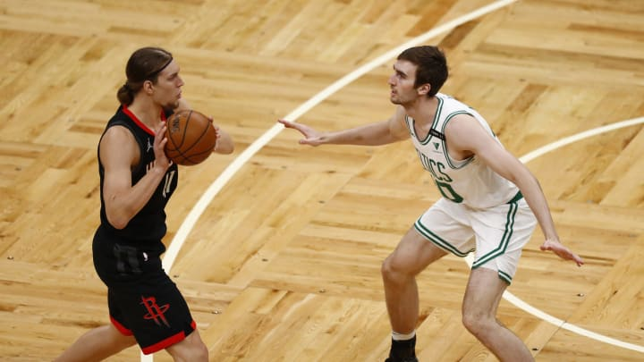 Kelly Olynyk #41 of the Houston Rockets (Photo by Omar Rawlings/Getty Images)
