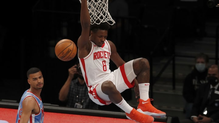 Jae'Sean Tate #8 of the Houston Rockets (Photo by Jim McIsaac/Getty Images)