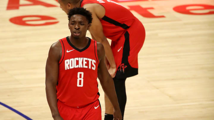 Jae'Sean Tate #8 of the Houston Rockets (Photo by Katelyn Mulcahy/Getty Images)