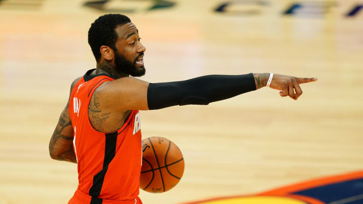 John Wall #1 of the Houston Rockets (Photo by Daniel Shirey/Getty Images)