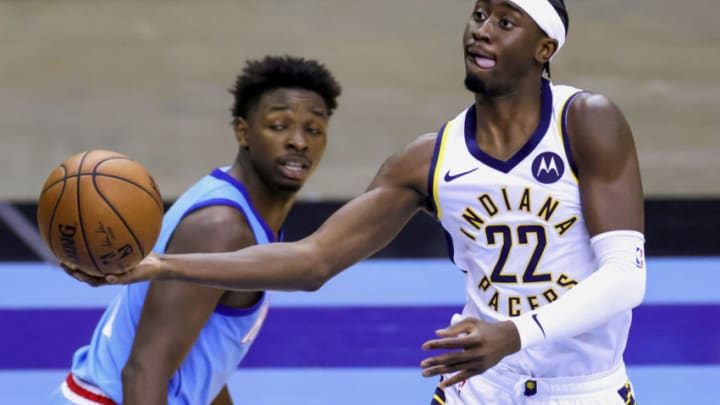 Caris LeVert #22 of the Indiana Pacers (Photo by Carmen Mandato/Getty Images)