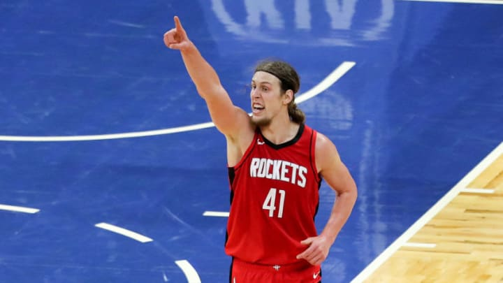 Kelly Olynyk #41 Houston Rockets (Photo by Alex Menendez/Getty Images)