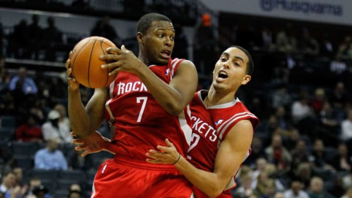Houston Rockets Kyle Lowry Kevin Martin (Photo by Streeter Lecka/Getty Images)