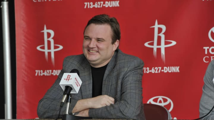 General Manager Daryl Morey of the Houston Rockets