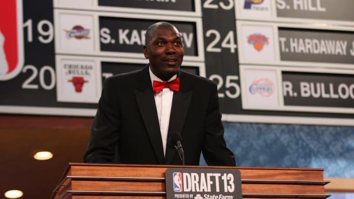 Hakeem Olajuwon (Photo by Mike Stobe/Getty Images)
