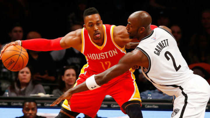 Dwight Howard Kevin Garnett (Photo by Jim McIsaac/Getty Images)