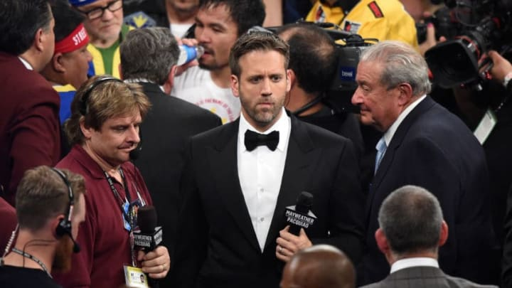 Broadcaster Max Kellerman (Photo by Harry How/Getty Images)