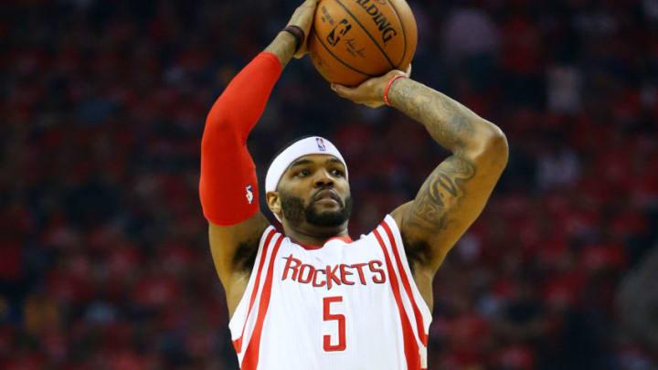 Houston Rockets Josh Smith (Photo by Ronald Martinez/Getty Images)