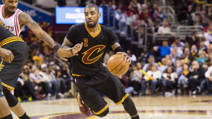 CLEVELAND, OH - MARCH 29: Kyrie Irving