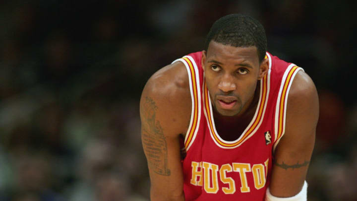 Tracy McGrady #1 of the Houston Rockets (Photo by: Ezra Shaw/Getty Images)