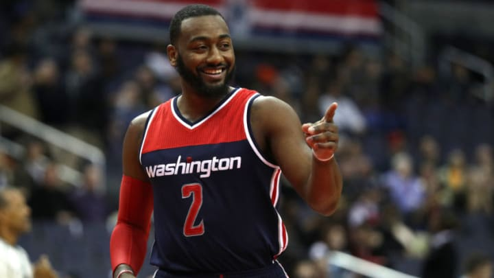 John Wall #2 of the Washington Wizards (Photo by Patrick Smith/Getty Images)