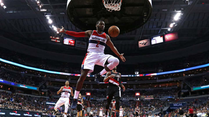 John Wall of the Washington Wizards (Photo by Patrick Smith/Getty Images)