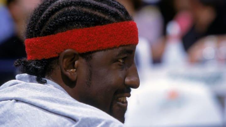 Houston Rockets Walt Williams .Mandatory Credit: Eliot J. Schechter /Allsport
