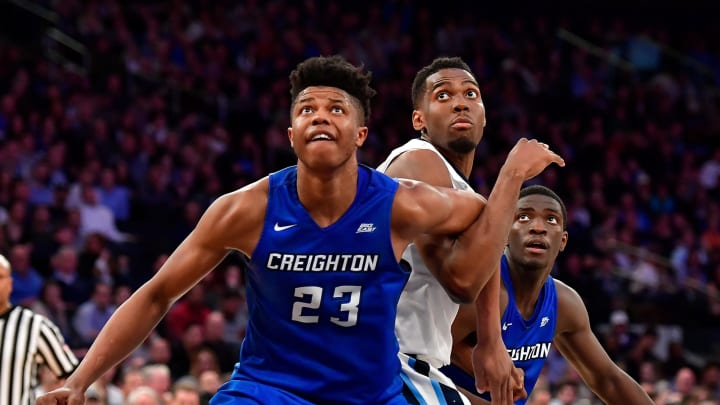 Justin Patton #23 of the Creighton Bluejays (Photo by Steven Ryan/Getty Images)