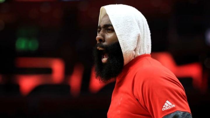 Houston Rockets James Harden (Photo by Sean M. Haffey/Getty Images)