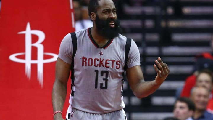James Harden #13 of the Houston Rockets (Photo by Ronald Martinez/Getty Images)
