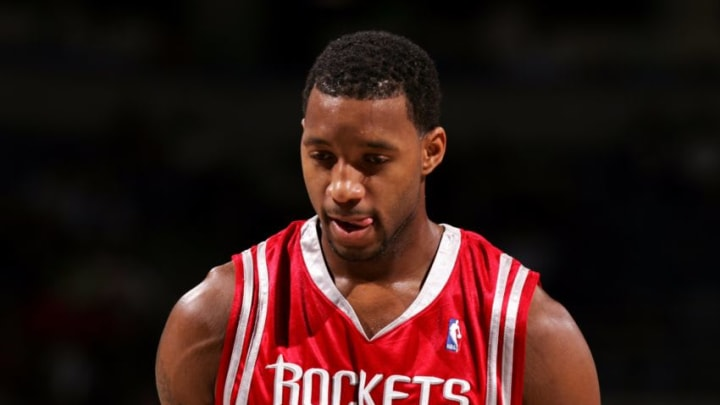Tracy McGrady #1 of the Houston Rockets (Photo by Jonathan Daniel/Getty Images)