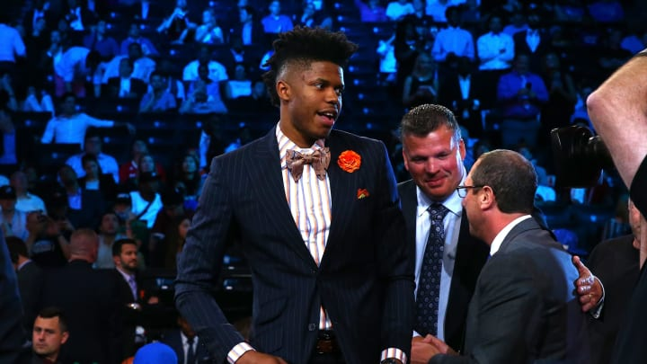 Justin Patton (Photo by Mike Stobe/Getty Images)