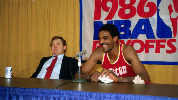 Houston Rockets Ralph Sampson (Photo by Andrew D. Bernstein/NBAE via Getty Images)