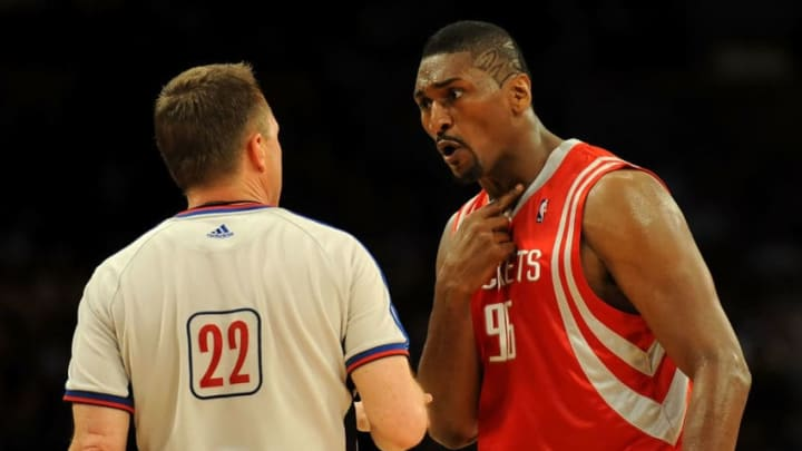 Houston Rockets Ron Artest (Photo by Harry How/Getty Images)