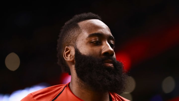James Harden #13 of the Houston Rockets (Photo by Omar Rawlings/Getty Images)